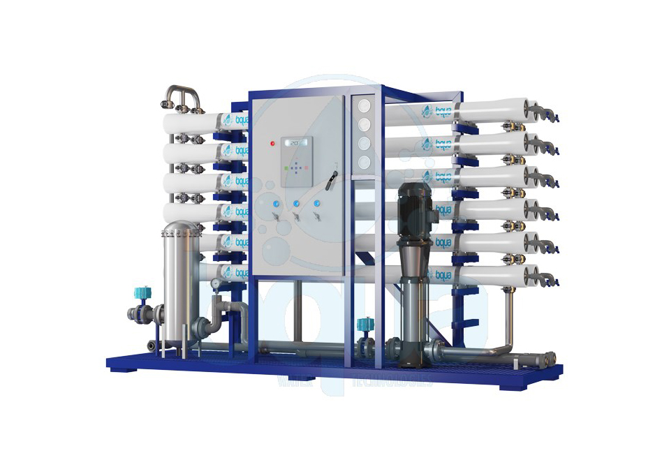 bqua industrial brackish water reverse osmosis system industrial wastewater