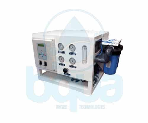 bqua seawater desalination water maker water treatment system off shore